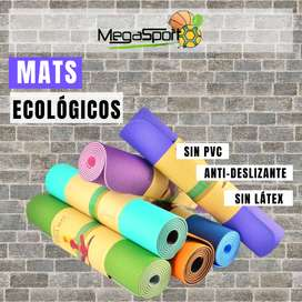 Yogamat, Colchoneta/Esterilla para Gimnasio, Entrenamiento, Pilates, Yoga y Fitness
