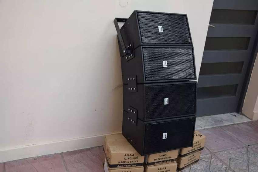 Fabricamos todo tipo de bafles, line array, subwoofer, monitores y anviles 0
