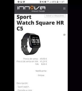 Barato Smart watch Innova