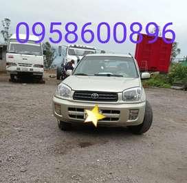 Vendo Toyota RAV 4 año 2003