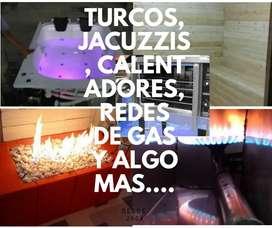 Calefacción Piscina a Gas