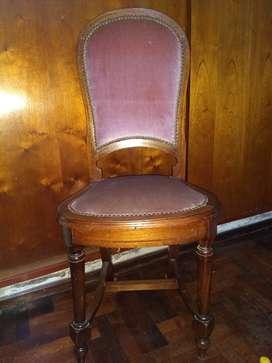 Vendo 6 sillas de estilo, oportunidad!