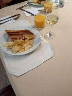 Servicio catering, platos especiales. decoraciones