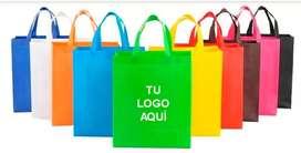 Venta de bolsas ecológicas, estampamos tu logo