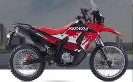 MOTO SSENDA DURO 250 CC