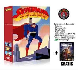 Superman Serie Animada Completa + Película Gratis