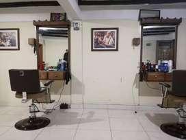 Montaje de barberia