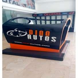 simulador de vehículo para tiendas de car audio