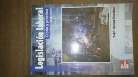 Legislación laboral, teoría y práctica. Quinta edición. Mc Graw Hill