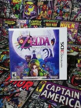 Zelda Majoras Mask 3D Original para Consola NIntendo 3ds Nuevo y Sellado