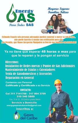 INSTALACIONES DE REDES DE GAS NATURAL