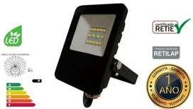 Reflector 10watts Luz Blanca Multivoltaje