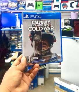 """NUEVO CALL OF DUTY BLACK OPPS """"COL WAR"""" PARA PS4 JUEGO SELLADO"""
