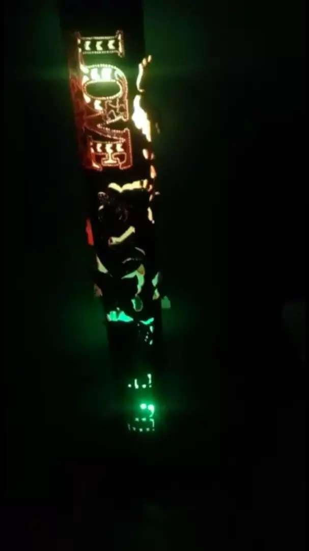 Linda lampara con musica y luces ritmicas