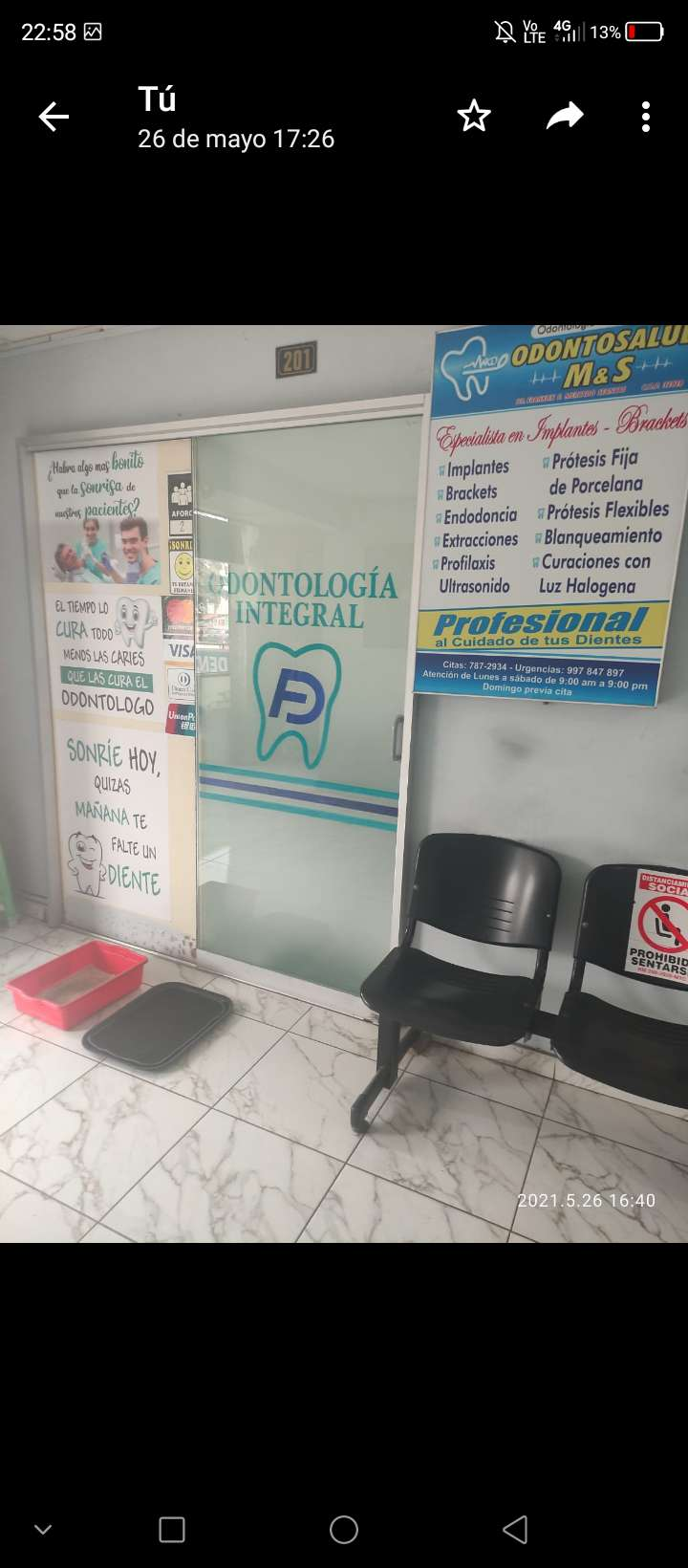Urgente - Odontólogo