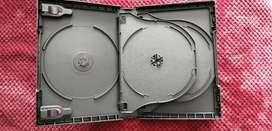 Cajas Bluray y DVD + Bluray 50GB + CDs tipo vinilo para impresión.