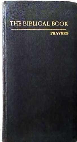 THE BIBLICAL BOOK – PRAYERS AUTOR: JOACHIM M. CULLEN AUDIOMAX
