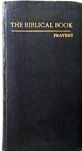 THE BIBLICAL BOOK – PRAYERS AUTOR: JOACHIM M. CULLEN AUDIOMAX 0