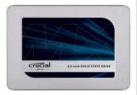SSD interno crucial mx500 500gb