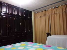 Alquilo habitacion amoblada