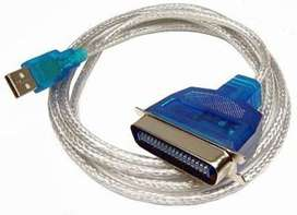 Cable Convertidor Usb A Paralelo Blindado ! Promocion !