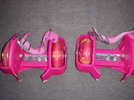 Patines para zapatos con luces