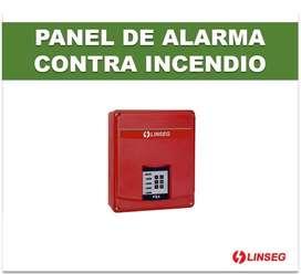 Panel De Alarma Contra Incendio Linseg Fx4