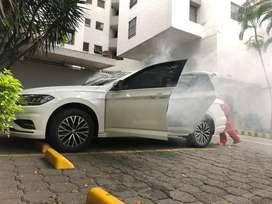 Lavado y servicio de desinfeccion de autos a domicilio