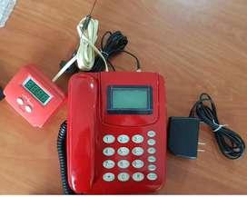 Monocabina Telcom Roja Cabinas