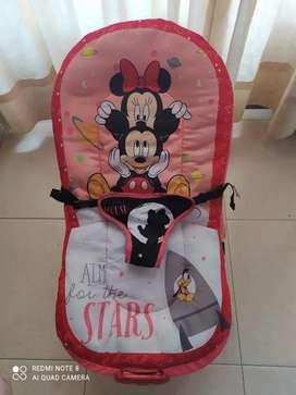 Silla Vibradora Musical para bebé Disney