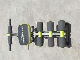 Mini gimnasio con sistema de reno