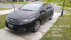 Honda City Exl 2011