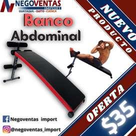 BANCO ABDOMINAL SENCILLO Y REFORZADO