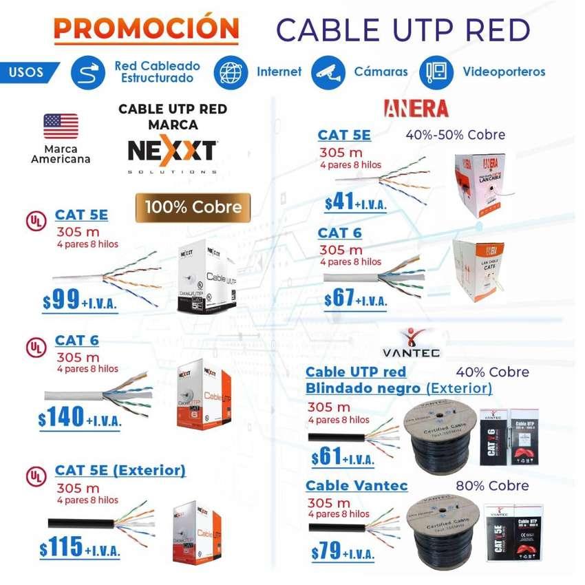 cable de red nexxt/cable para camaras de seguridad/cable de red Nexxt 0