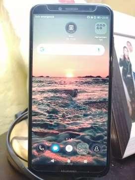 Huawei Y6 2018 Con detalle.