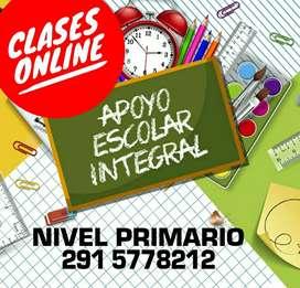 Clases particulares Online - Nivel Primario