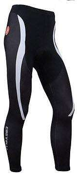 pantalon de ciclismo tirantas badana en gel 5 pd anti choque especial trayectos largos