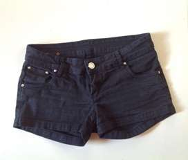 Shorts Negros Talla 12