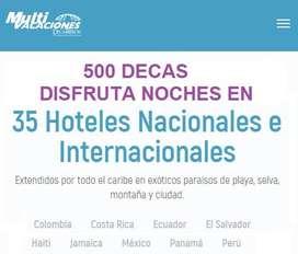 SUPER PROMOCION 500 DECAS PARA 35 HOTELES DECAMERON