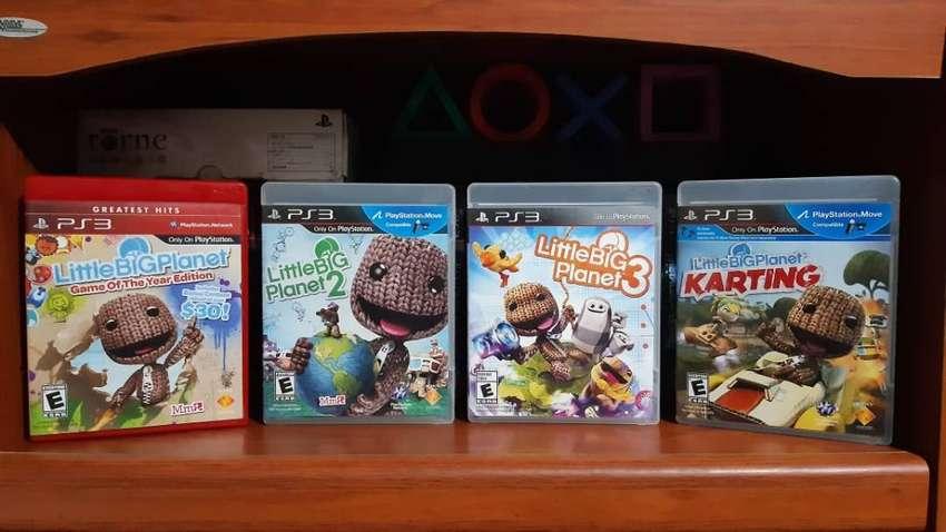 Colección Completa Little Big Planet Saga Coleccionistas 10/10 PlayStation 3 juegos 0