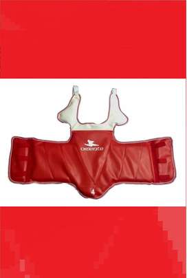 Pechera Protector Taekwondo Wtf Reversible Talle 1 - 2