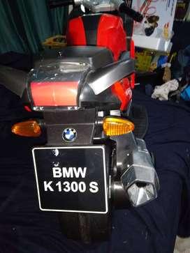 MOTO ELECTRICA NIÑOS BMW K1300 S USADA