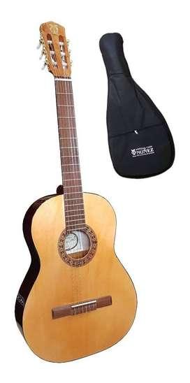 Guitarra Criolla De Estudio Antigua Casa Nuñez C150