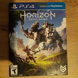 Juego original de PS4, Horizon Zero Down