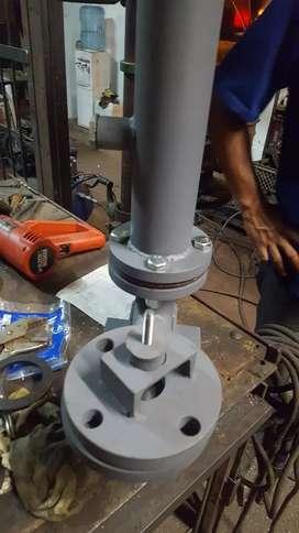 Fabricación de Arietes para bombeo de agua...de 1 hasta 10 pulgadas