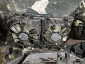 Radiador Y Electros Honda New Civic