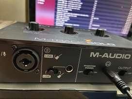 Interfaz de audio M - Audio Solo
