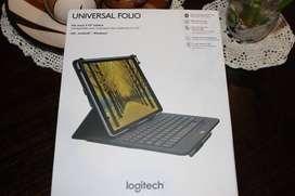 "TECLADO LOGITECH UNIVERSAL FOLIO 9"" A 10"" BLUETOOTH BLACK"