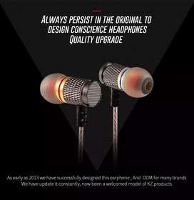 Audífonos KZ EDR1 con micrófono como manos libres