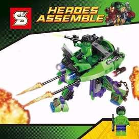 Figuras Lego Super Heroes Assemble Hulk Sy248b Pantera